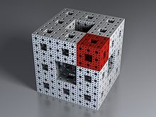 Eponge de Menger-Spierpinsky apr�s 4 it�rations